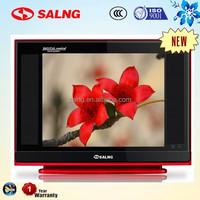 17 inch CRT TV in living room corner tv showecase to distributor indonesia