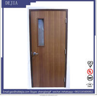 fire rated wooden door,UL certification,high quality,1.5hours