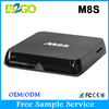 International tv box M8S Memory extended lcd tv box with Window 8 Style