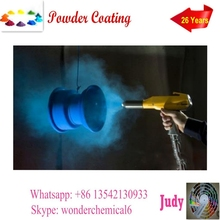 spray paint blue with corrosion resistence epoxy powder coating paint