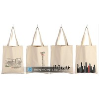 hot new products for 2015 canvas bag with leather trim, canvas boat bag