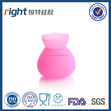Silicone vase shape cup