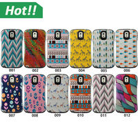 Printing design tough armor case for Samsung galaxy note 3 4 custom silicone phone case