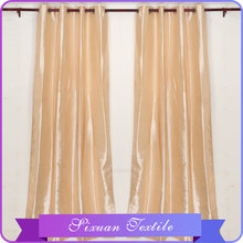 2016 lo último Popular Shinning Faux seda cocina patrones de cortina en China