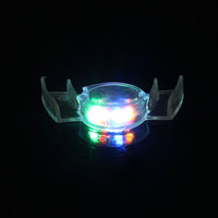 LED Flashing Light Tooth Toy Mouth Guard Piece 4 Colors Party Glowing Christmas Gift Halloween Trick or Treat Ghost Fool Filler
