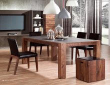 2015 Vintage Country Style Walnut Wood Used Dining Room Furniture Dining Table For Sale