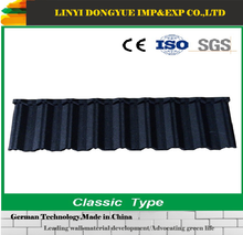 Economical Residential roof tiles Stone-coated Metallic Roof Tile Type