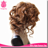 sexy lady short hair wig #4 color body curly virgin peruvian wigs