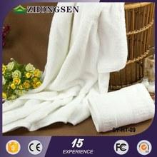 OEM service 100% Cotton zero twist jacquard towels