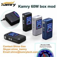 Best vape supplies kamry60w box mod green smoke with sub ohm power tank