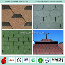 Build Construction Modern Different Shapes Roofing Decorative asphalt shingles