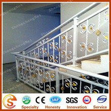 Metal stair handrail Wrought iron stair railing