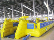 inflatable sports game, inflatable football field
