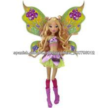 6 pulgadas de hadas volando muñecos elfos winx anidación