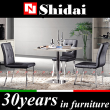 compact dining table designs / stainless steel dining table designs / latest designs of dining tables A-26