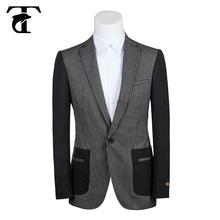 Estilo de moda hombre nuevo diseño traje de hombre blazer venta
