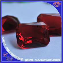 Smooth Faceted/Clear Light Synthetic Glass Stone Manufacturer