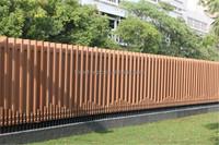 FRSTECH composite wood slats aluminium slats for venetian blindslink fence decorative wood slats