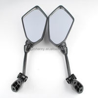 Motorcycle Rearview Mirrors For KAWASAKI ZX6R ZX-6R ER-6F 2009 2010 2011 Black