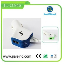 New product car charger one plus one adapter smart phone quick charger
