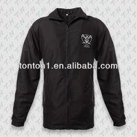 Outdoor waterproof custom sports plain man polar fleece jacket