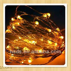 invisible led string battery lights led mini copper wire string light