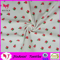 wholesale 10% spandex 90% polyester custom spandex print fabric