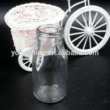 200ml caliente de la venta de calidad superior de vidrio botella de leche