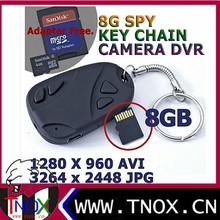 Hot selling Mini USB hidden car key Chain keychain Video camera DV 808