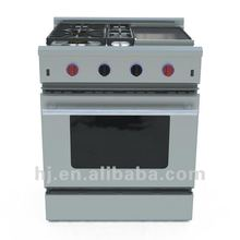 """30"""" Stainless Steel Freestanding Gas Oven"""