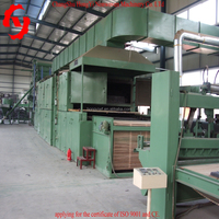 HY-high capacity cotton waste production line,nonwoven production line,waste felt production line