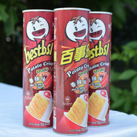 High quality laminated custom printing pringles potato chips containers