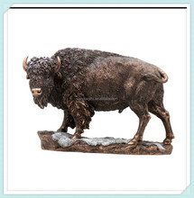 American buffalo bison statue sculpture figurine