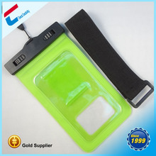 Clear sensitive screen pvc mobile waterproof bag for iphone,for samsung for HTC