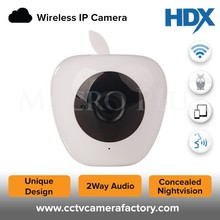 2Way Audio Supported new Apple WIFI IP 1MP 720P HD Resolution Camera