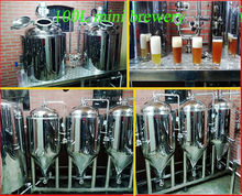 100L Copper micro brewing equipment for All Russian-speaking countries market