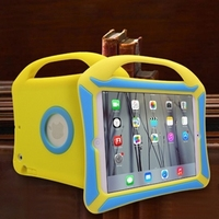 Single hand cooling explosion silicone case for ipad mini
