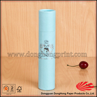 Attractive packaging round cardboard olive oil box