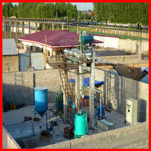 2015 China factory top selling petrol recycled Used Motor Oil Distillation Machines