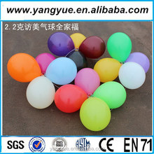 "10"" inch round latex balloon for birthday party decorations"