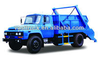 total 10t swing arm garbage truck with a box