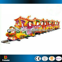 Super electric track train rides amusement rides train,amusement rides train