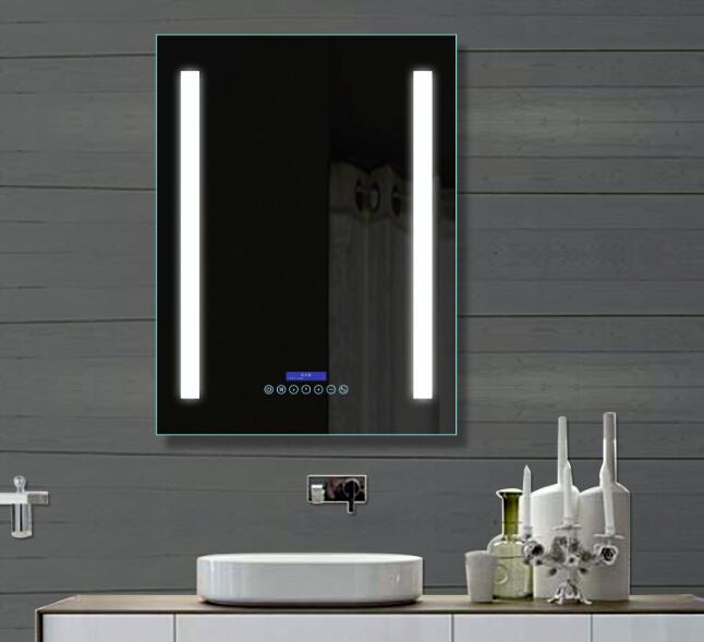 haut de gamme h tel salle de bains led mp3 radio miroir