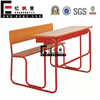 Class Furniture, Student Table Set, Double School Desk and Bench