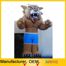 Attracting new design inflatable advertising tiger cartoon/2015High Quality/inflatable tiger cartoon toy