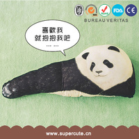 Brand New cute home decoration Panda Arm style animal shaped pillow