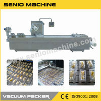SMV-320/420/520 Thermoforming Stretch Automatic Sandwich Packaging Machine