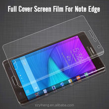 Best Quality HD Clear Full Cover Front and Back Anti-shock LCD Screen Protective Saver Film for Samsung Note Edge