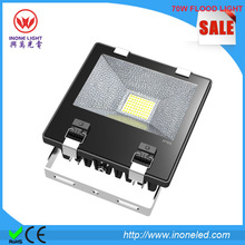 Bridgelux chips 45mil and MEANWELL Driver 70w outdoor led flood light IP65