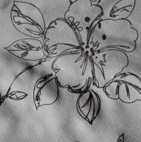 Flocked micro velvet fabric